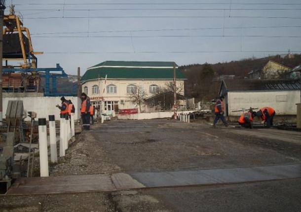 В новороссийском районе отремонтируют ж/д переезд